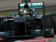 Stuck brake adjuster hinders Rosberg