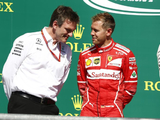 "Mercedes' ""many good options"" make Vettel move unlikely - Allison"