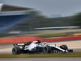In pictures: Hamilton returns to the track at Silverstone
