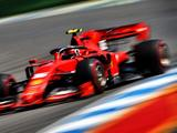 Charles Leclerc fastest in closely-contested final German GP session