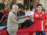 Leclerc completes remake of controversial driving film in Monaco