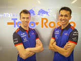 Q&A with Kvyat and Albon