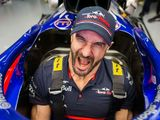 WWE star Cesaro pushes F1 car dimensions to the limit
