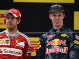 Angry Sebastian Vettel accuses Daniil Kvyat of driving 'like a crazy'