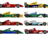 Michael Schumacher: We rank all 20 of his F1 cars