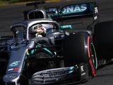 FP1: Hamilton tops Mercedes 1-2 in France