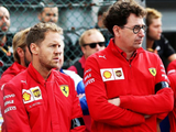 "Vettel ""not fully happy"" even now with Ferrari axe decision - Binotto"