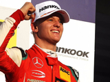 Schumacher ecstatic at first F2 win