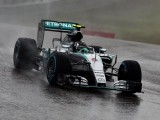 Nico Rosberg takes pole in rain-shortened U.S. Grand Prix qualifying