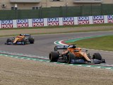 McLaren's Imola troubles began on Saturday