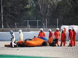 McLaren confirms cause of early Alonso F1 test crash