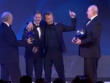 Kimi Raikkonen got hammered at the FIA Prize Giving gala and everyone loves it