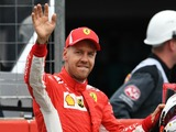 Qualy: Vettel on pole, Hamilton breaks down