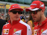 Raikkonen is just as quick as Vettel - Ferrari