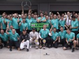 Wolff hails Mercedes' second world title