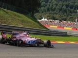 Sergio Perez 'very disappointed' by Esteban Ocon's reaction to Spa clash