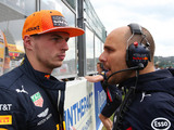 Max lifts lid on dynamic with his race engineer