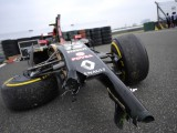 Maldonado plays down practice crash