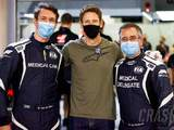 Grosjean reunited with rescuers on return to Bahrain F1 paddock