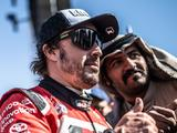 Alexander Rossi 'relieved' Fernando Alonso didn't win on Dakar debut