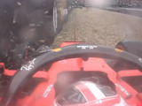 Leclerc crashes out of German GP