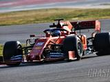 Vettel lowers pace for Ferrari on final morning of F1 testing