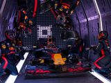 Red Bull complete zero-gravity pit stop