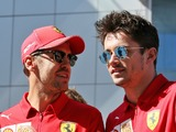 Vettel goes against Ferrari team orders