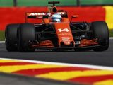 Alonso Taking Pouhon Flat for First Time 'Confused' Honda Power Unit