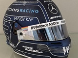Russell to wear Williams tribute helmet for Abu Dhabi GP