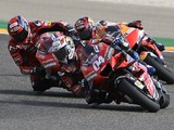 "Dovizioso ""completely finished"" rear tyre in Teruel MotoGP"