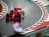 Ferrari F1 car 'not as competitive' as Mercedes in the wet says Vettel