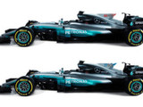 Mercedes reveals 'new look' for Spain onwards