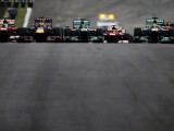 Vettel equals record with ninth consecutive win