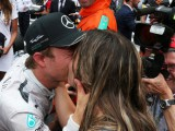 Rosberg 'over the moon' as he weds