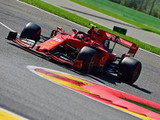 Leclerc takes pole in Belgium