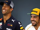Fernando Alonso says Red Bull offered him Daniel Ricciardo's seat