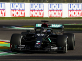 Hamilton takes single practice honours on F1's long-awaited return to Imola