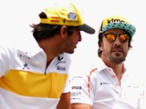 Erm, welcome back to Formula 1, Fernando