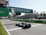 Hamilton cruises to Montreal win