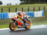 Marc Marquez tops crash filled final day of Phillip Island MotoGP test