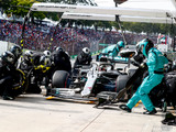 'Social distancing in F1 not always possible'