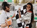 Model Winnie Harlow not to blame for early chequered flag - Charlie Whiting