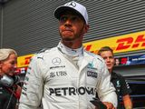 Lewis Hamilton humbled to match Michael Schumacher F1 pole record