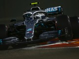 Abu Dhabi GP: Bottas leads Mercedes 1-2, but clashes with Grosjean