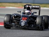 McLaren carries out Barcelona filming days
