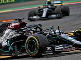 Mercedes purposely slower at Spa by 0.6, 0.7 tenths