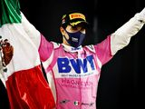 Perez wins first race from last after Russell puncture pain