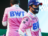 Perez blames Giovinazzi for missed pole opportunity