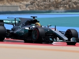 Hamilton tops first day of Bahrain test